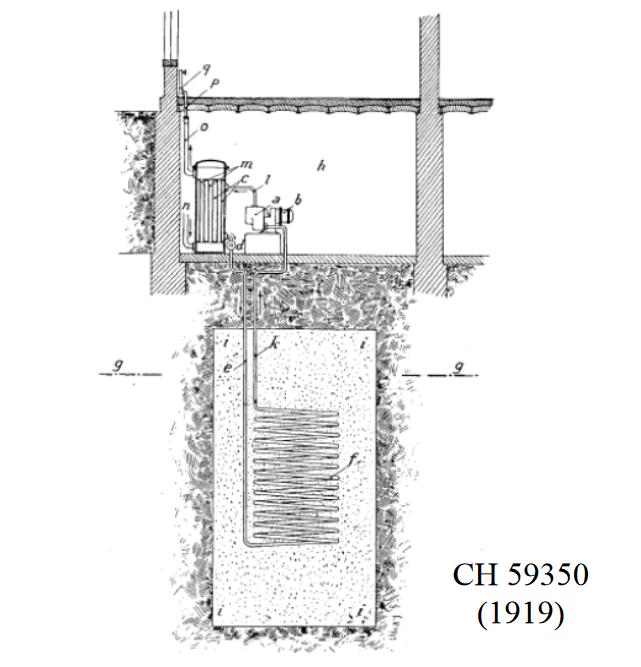Patent na pierwsze dolne źródło