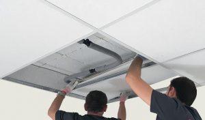 Ogrzewanie i chłodzenie sufitowe TiA - Sander Ceiling Panel - MONTAŻ