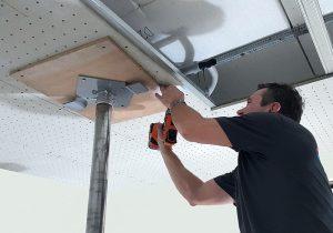 Ogrzewanie i chłodzenie sufitowe TiA - Sander Ceiling Panel Plus - MONTAŻ