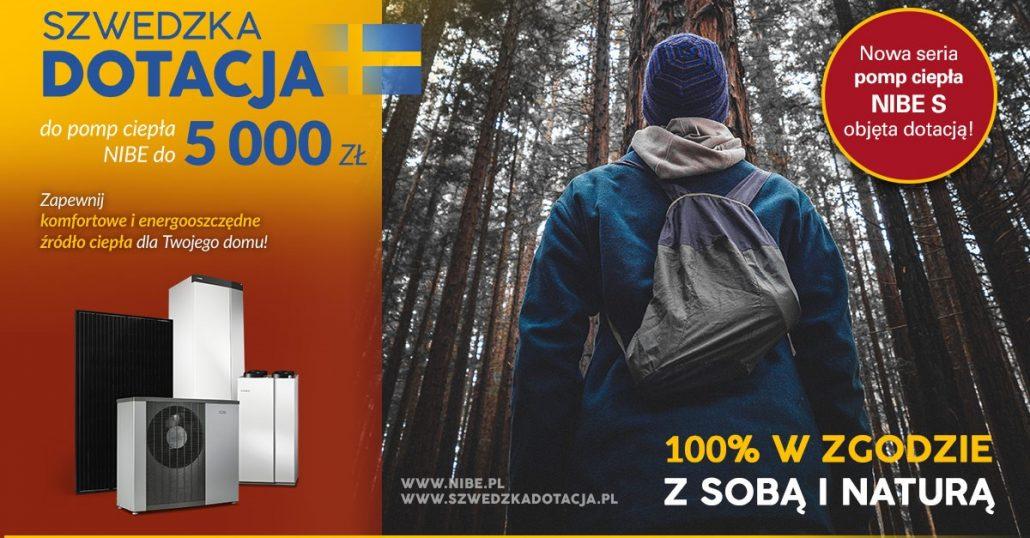 NIBE-BIAWAR - Szwedzka Dotacja do pomp ciepła NIBE