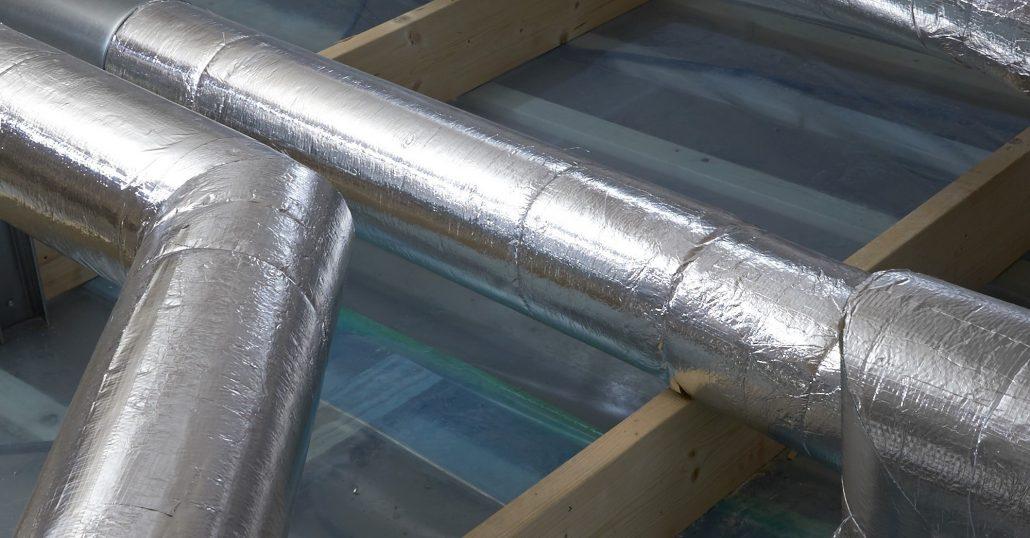 Izolacja rurociągów HVAC