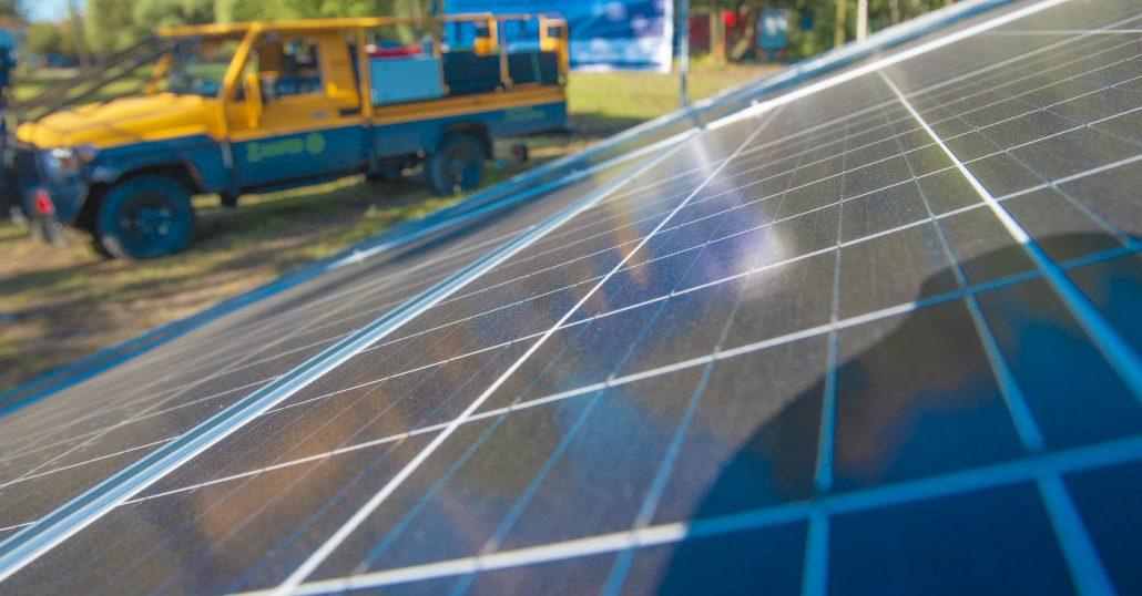 Minielektrownia fotowoltaiczna