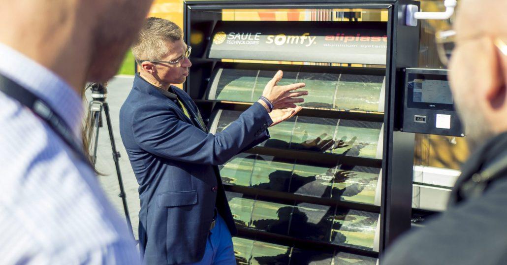 Saule Technologies pokazało produkt, który zrewolucjonizuje rynek rozwiązań fotowoltaicznych
