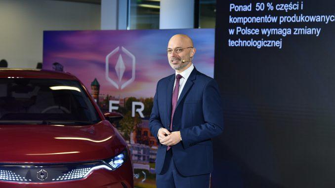 Minister Kurtyka o polskich samochodach elektrycznych Izera