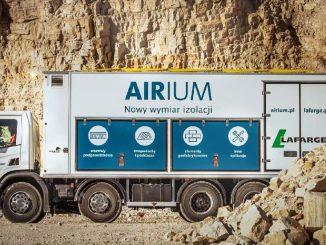 AIRIUM truck - mobilna wytwórnia AIRIUM™