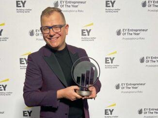 Dawid Zieliński zwycięzcą konkursu EY Przedsiębiorca Roku