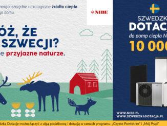 Nowa edycja Szwedzkiej Dotacji do pomp ciepła NIBE do 10 000 zł