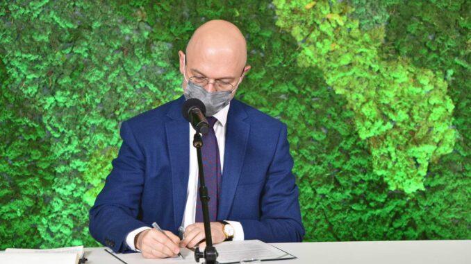 Podpisanie listu intencyjnego ws. utworzenia Hubu Naukowo-Technologiczno-Biznesowego w Miękini