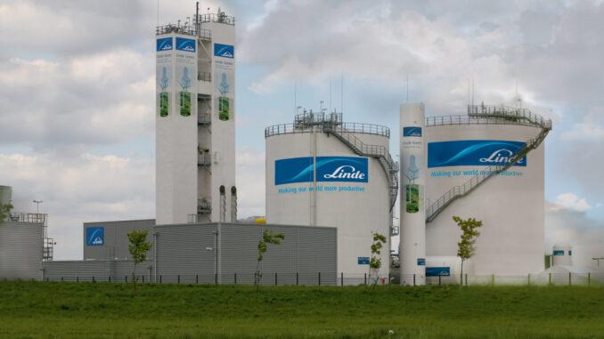 Zakład Linde Gaz Polska zasilany zieloną energią