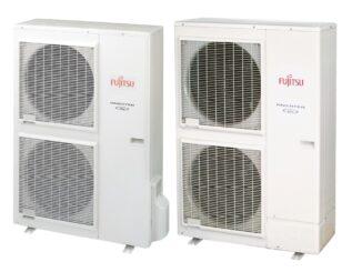 Pompy ciepła powietrze-woda do domów jednorodzinnych Fujitsu High Power