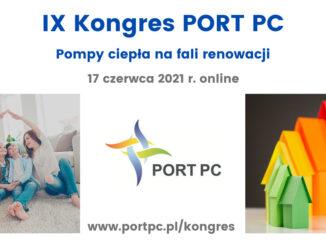 """Kongres PORT PC 2021 """"Pompy ciepła na fali renowacji"""""""