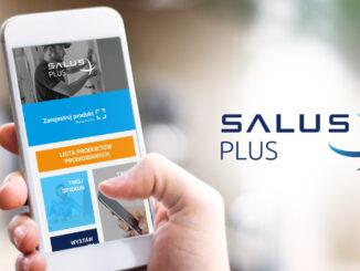 Aplikacja mobilna SALUS Plus