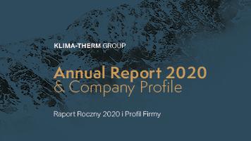 """""""Raport Roczny 2020"""" – Grupa Klima-Therm prezentuje wyniki"""