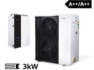 Pompa ciepła powietrze/woda PCCO SPLIT 13 HEWALEX
