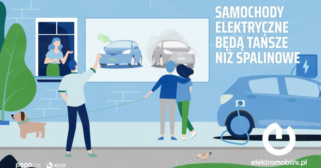 Samochody elektryczne będą tańsze w zakupie od spalinowych