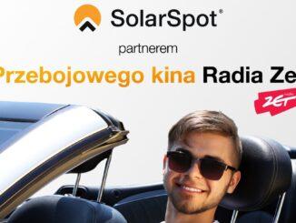 "SolarSpot partnerem ""Przebojowego kina letniego Radia Zet"""