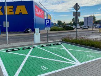 GreenWay wspiera rozwój stacji ładowania IKEA