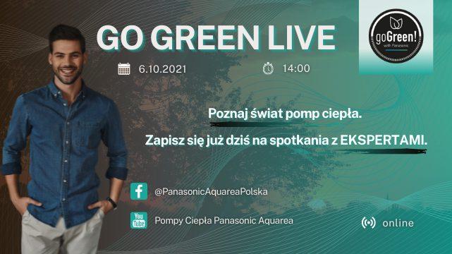 Instalatorze! Poznaj świat pomp ciepła Panasonic i dołącz do społeczności GO GREEN!