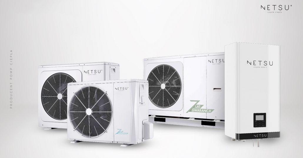 NETSU - pompy ciepła