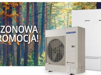 Pompa ciepła Samsung z klimatyzatorem Samsung split 3,5 kW