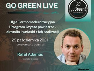 III webinar w kampanii Go Green!